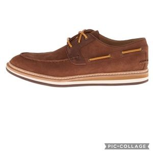 UGG Newell Leather Boat Shoes
